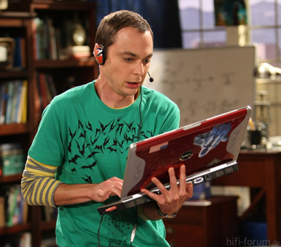 Sheldon Cooper Laptop