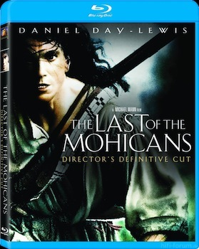 The Last Of The Mohicans Blu Ray Box Art
