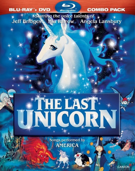 The Last Unicorn Blu Ray Cover Image 476x600