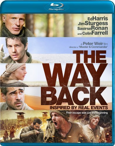 The Way Back Blu Raydvd Cover