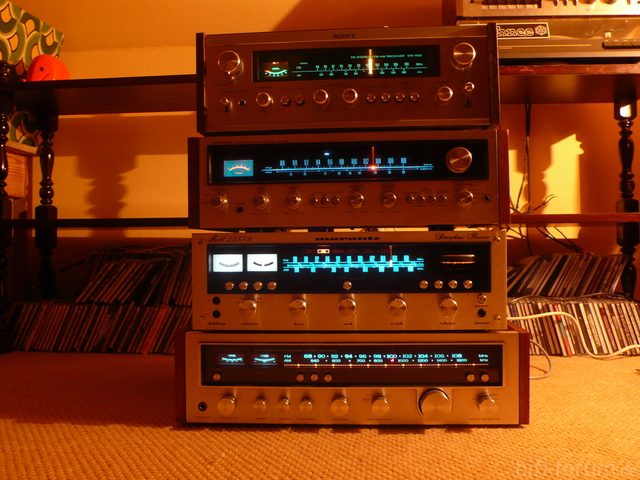Sony STR 7035, Pioneer SX 626, Marantz 2235B, Kenwood KR 5600