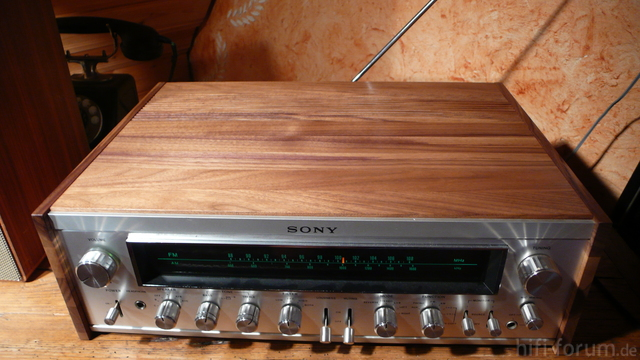 Sony STR  7055 Woodcase