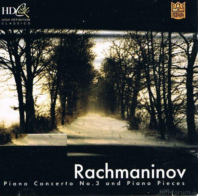 Rachmaninov Concerto No. 3 & Pieces