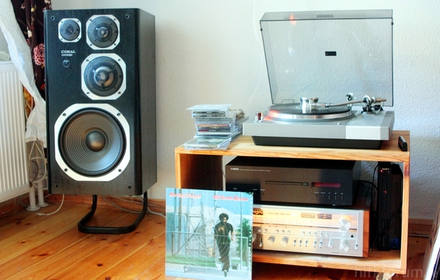 Pioneer SX 1080 - Sanyo TP 1000 - Coral DX 11 - Yamaha Cd S1000