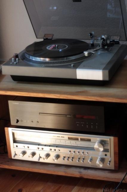 Yamaha CDS1000 - Coral DX11 - Pioneer SX1080 - Sanyo Tp1000