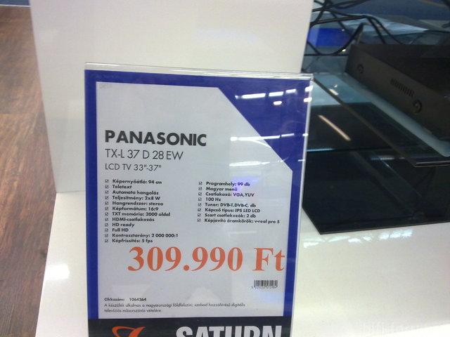 Panasonic LCD/LED Preis