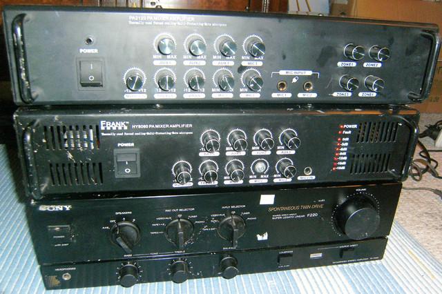 PA-Verstärker Frank-Audio