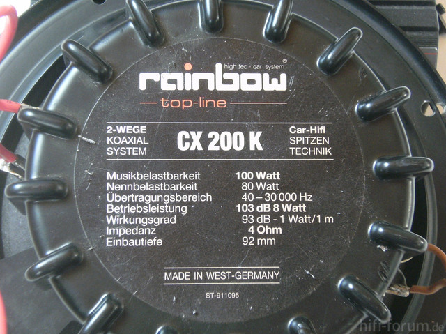 Rainbow Speaker