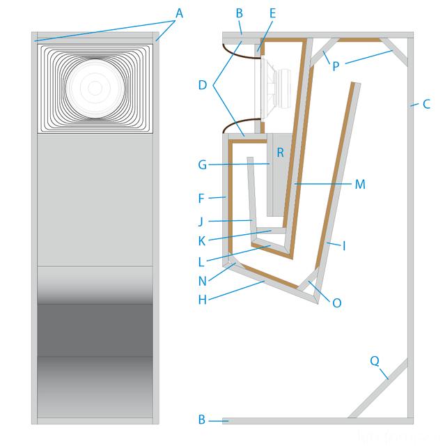 Detailzeichnung Forumbox Austria