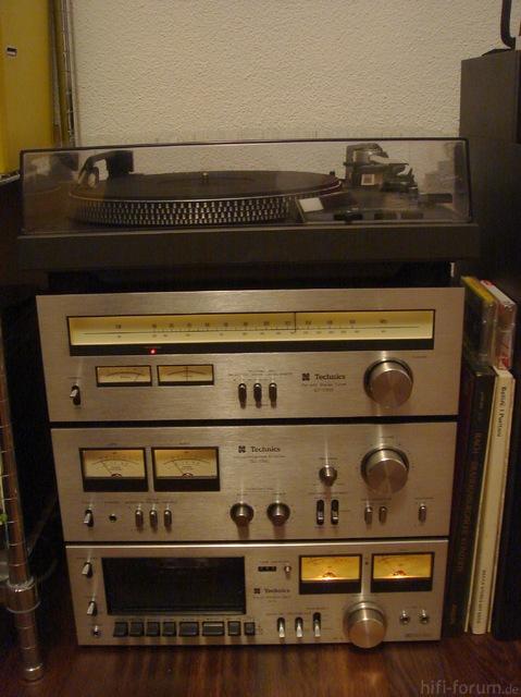 1970er Technics-System