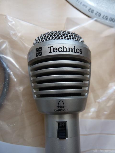 Technics RP-3500E Mikrophon