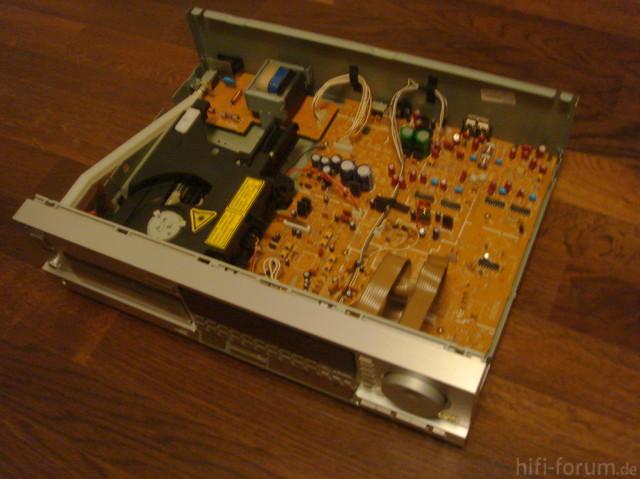 Technics SL-P770 Innenansicht