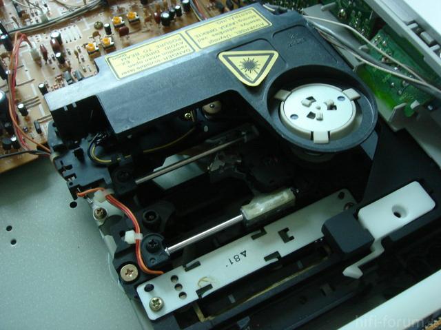 Technics SL-P770 Laserschlitten