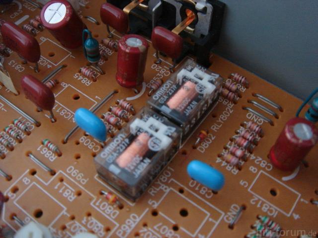 Technics SL-P770 Relais