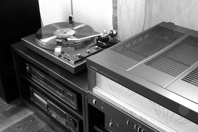 Vintage Technics Black & White