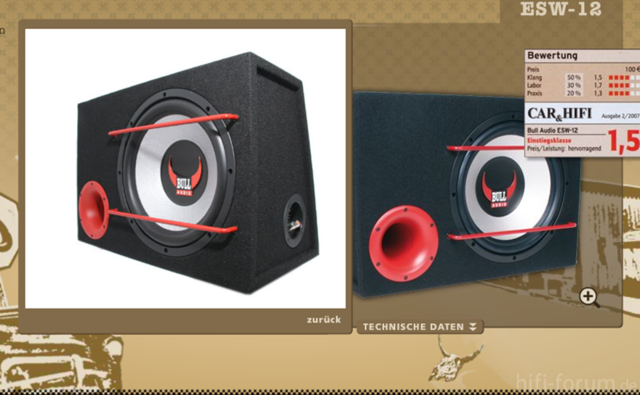 ESW 12 Bull Audio