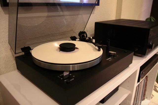 Thorens TD 147 Mit VinylMaster Red