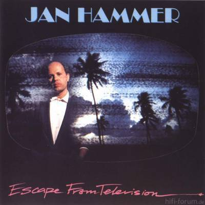 Jan Hammer Escape From Television Front Cover 40837