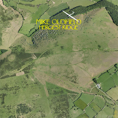 Mike Oldfield Hergest Ridge Front