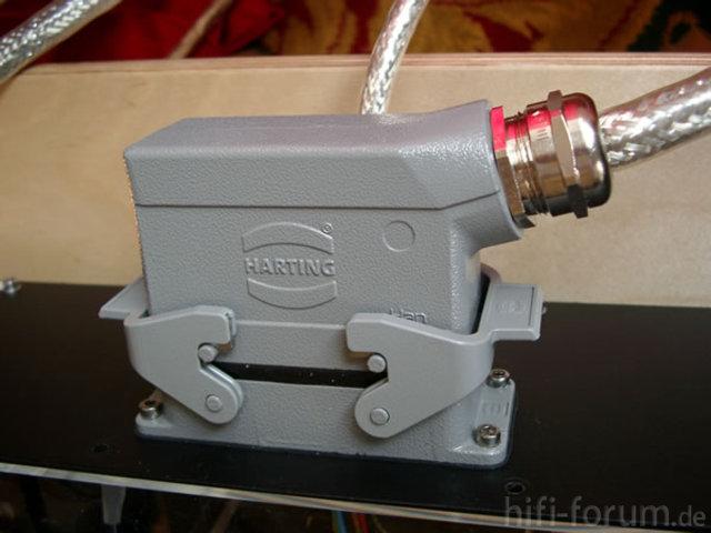 ASR Emitter Harting Stromstecker