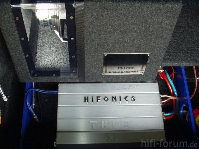 Hifonics Thor XI & Hifonics ZS10BP