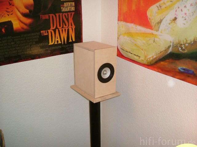 Rear-Speaker Mit Tangband