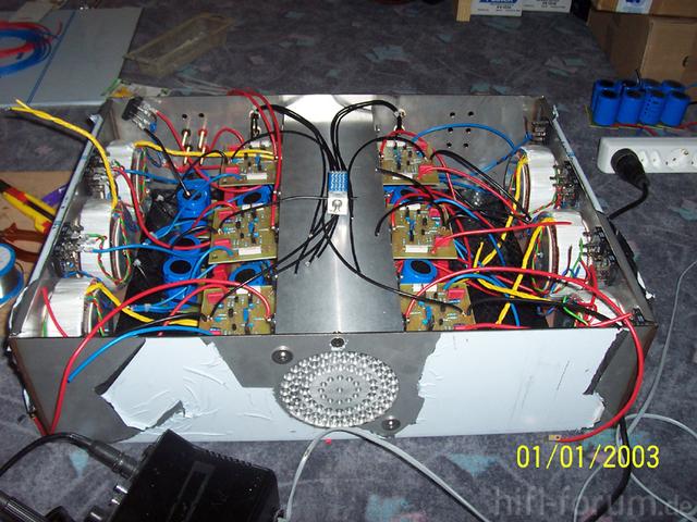 Mein 5.1 Claas A Amp Im Gehäuse