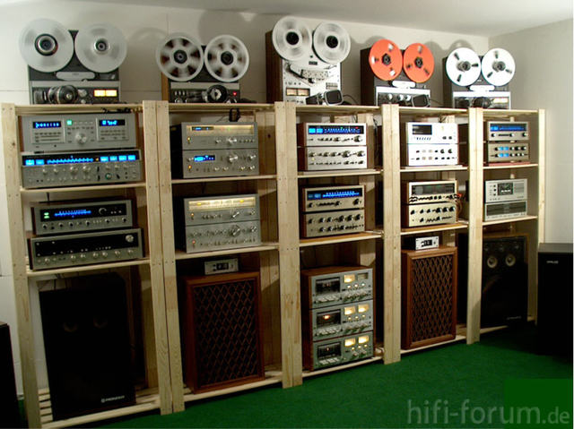 Pioneer Vintage + Reel-to-Reels