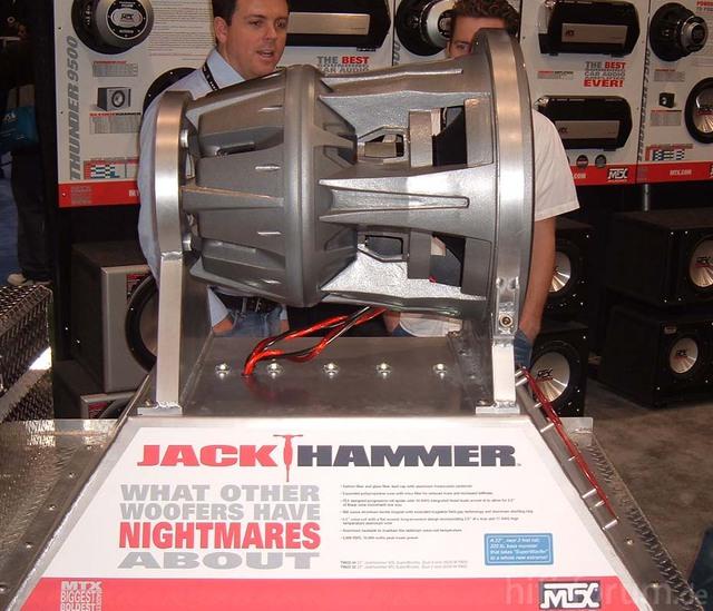 MTX Jack Hammer Sub