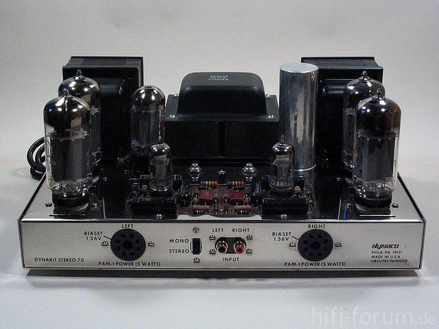 Dynaco ST-70  (Aktualisierung) M. Ei 6CA7