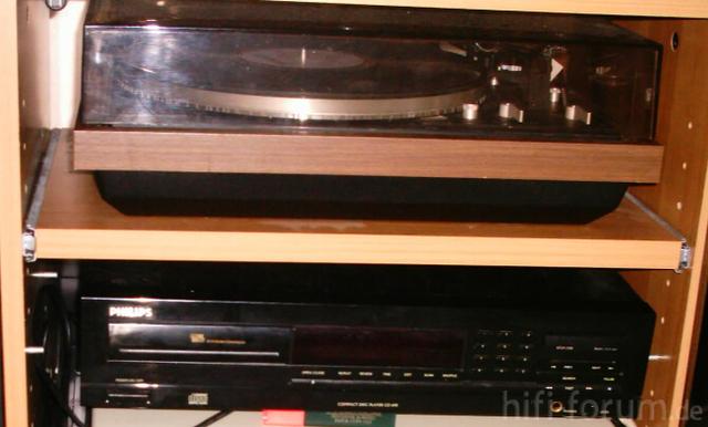 Dual 721 Und Philips CD- Spieler