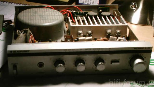 Verstärker Blaupunkt Micronic A-30