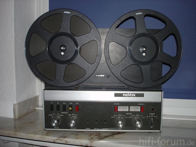 Studer Revox A77 Tonbandgerät