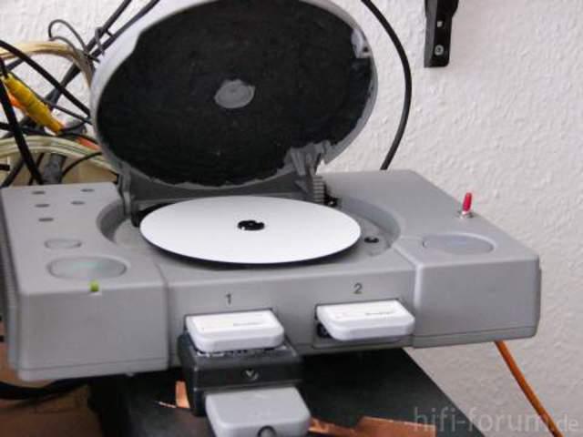 Modifizierte Playstation 1
