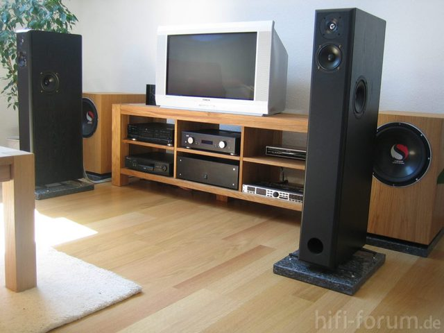Sideboard Hifi Anlage : sideboard eiche echtholz do it yourself hifi ~ Sanjose-hotels-ca.com Haus und Dekorationen