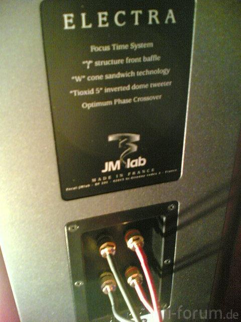 LS 1002 BiWiring An Electra 926 Jm Lab