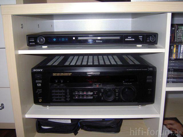 Sony STR-DE835 Und Tevion DVD6000