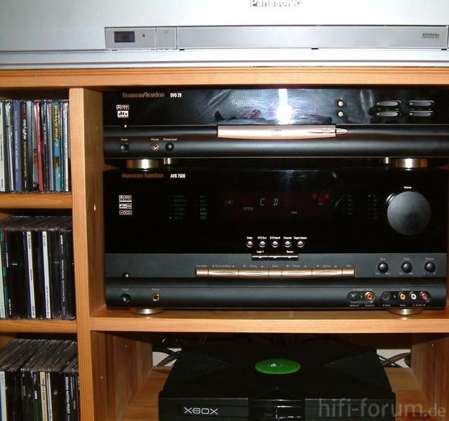 Harman/Kardon AVR 7500 Und DVD 20