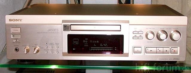 Highend-Minidisc-Deck Von Sony