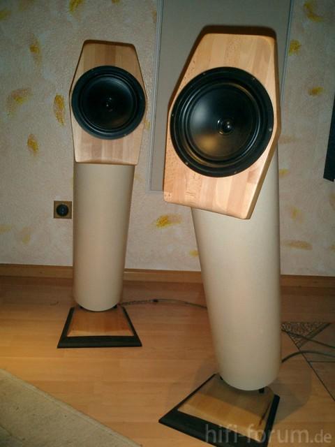 Selbstgebaute Lautsprecher