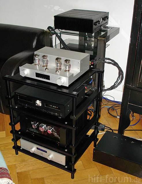 Verstärkertest Octave-Emitter-Vincent-Audionet 1