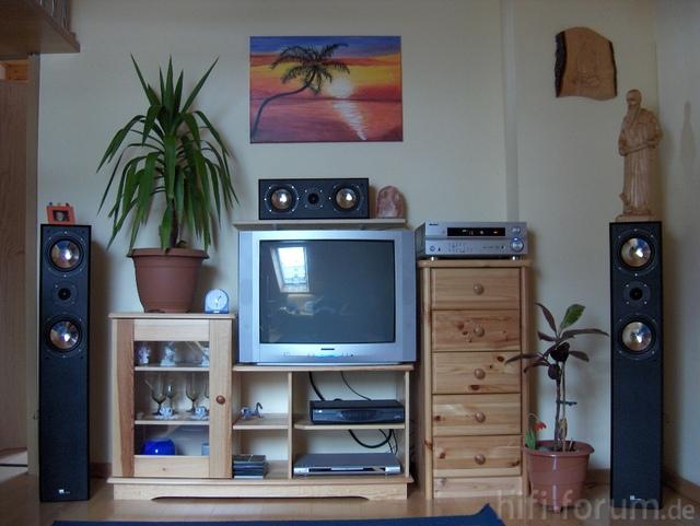 Pure Acoustics Pro 828 Set Und VSX-515