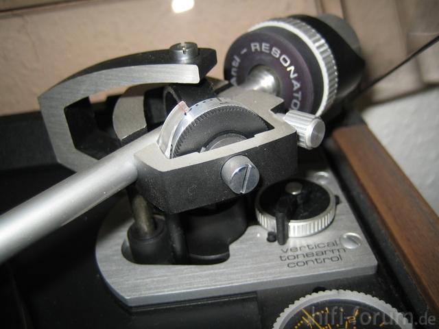 Tonearm Von Dual Plattenspieler Vertical Tonearm Control