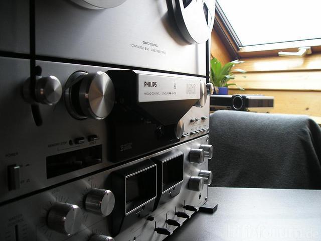 Philips N 4520 Tonbandmaschine