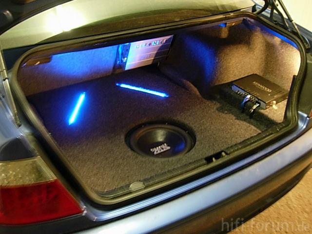 Kofferraumausbau Meines BMW E46 320Ci