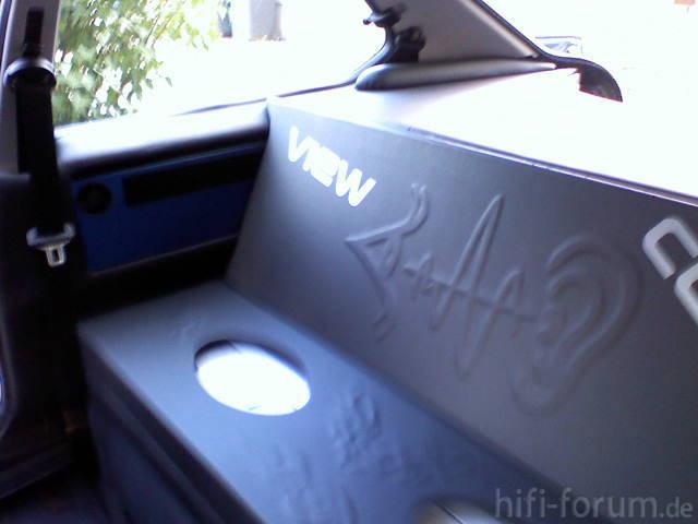 Bmw  E 36 Compact Kofferraumausbau