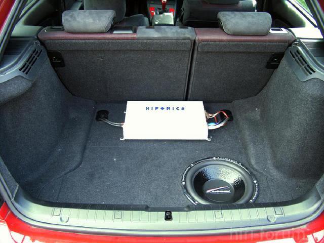Kofferraumausbau E46 Compact