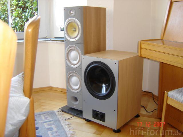 B&W DM-604 S3 +Nubert AW-991