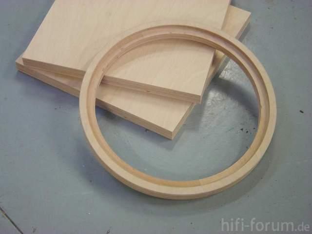 38cm Ringe Aus 30er Multiplex