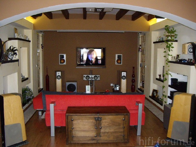 wohnzimmer heimkino 1 heimkino surround hifi. Black Bedroom Furniture Sets. Home Design Ideas